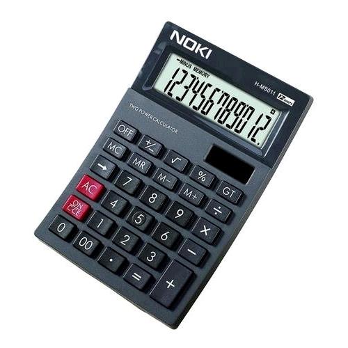 Calculator 12 digits Noki 0