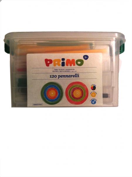 Carioci 12 culori, 120 buc in cutie de plastic (120 buc/set) [0]