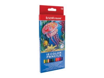 Creioane color 12 culori ErichKrause 0