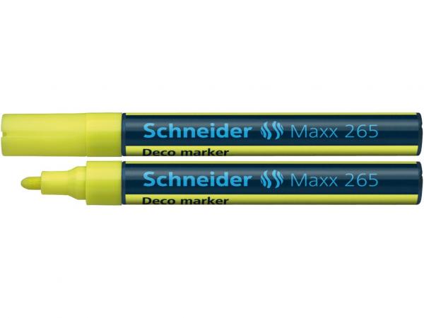 Deco Marker Schneider Maxx 265 - Galben [0]