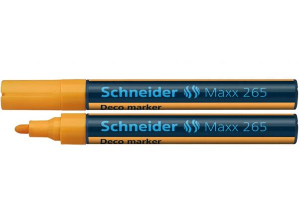 Deco Marker Schneider Maxx 265 - Portocaliu [0]