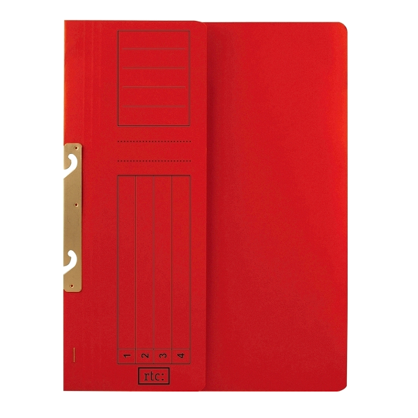Dosar de incopciat 1/2, carton, 250 g/mp, color, 10 bucati/set 2