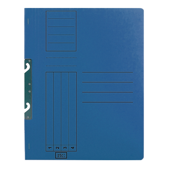 Dosar de incopciat 1/1, carton, 250 g/mp, color, 10 bucati/set 3