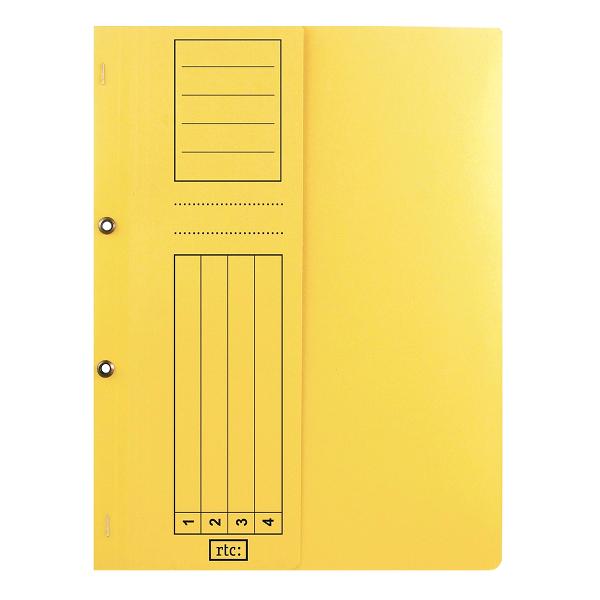 Dosar cu gauri 1/2, carton, 250 g/mp, color, 10 bucati/set 1