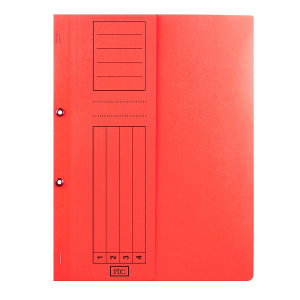 Dosar cu gauri 1/2, carton, 250 g/mp, color, 10 bucati/set 3