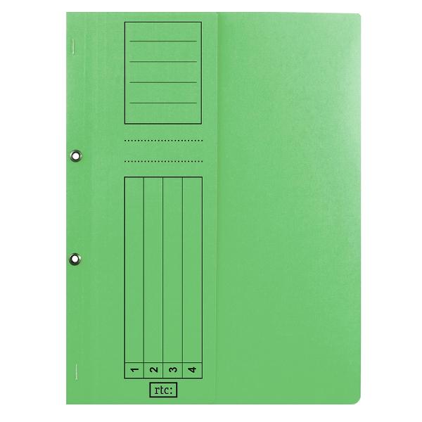 Dosar cu gauri 1/2, carton, 250 g/mp, color, 10 bucati/set 2