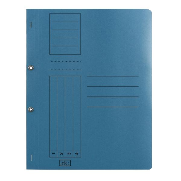 Dosar cu gauri 1/1, carton, 250 g/mp, color, 10 bucati/set 1