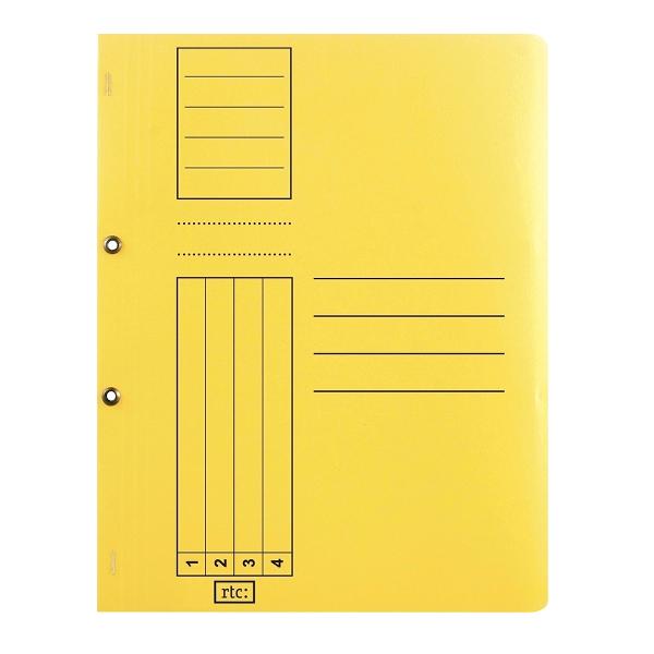 Dosar cu gauri 1/1, carton, 250 g/mp, color, 10 bucati/set 3