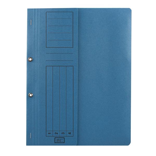 Dosar cu gauri 1/2, carton, 250 g/mp, color, 10 bucati/set [0]