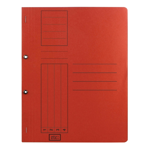 Dosar cu gauri 1/1, carton, 250 g/mp, color, 10 bucati/set [0]