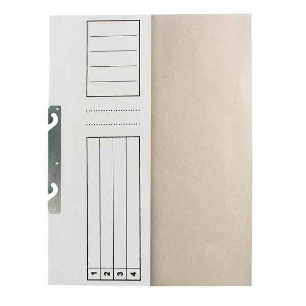 Dosar de incopciat 1/2, carton, alb 0