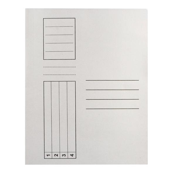 Dosar plic, carton, alb [0]