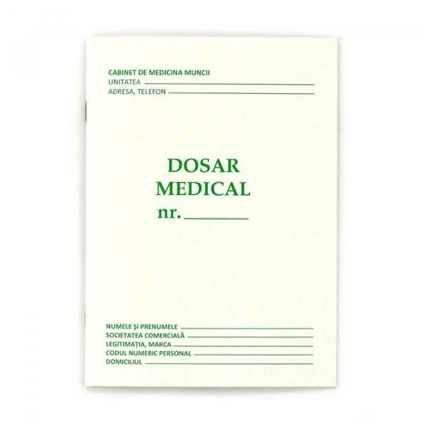 Dosar medical A5 0