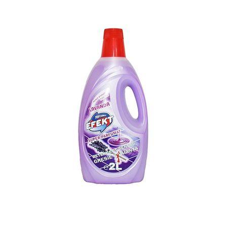 Detergent pentru gresie si faianta Efekt Lavanda, 2 L 0