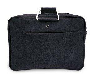 Geanta laptop neagra 17*, 39x7x30cm [0]