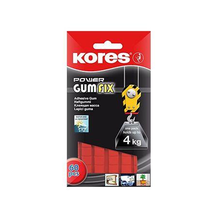 Pastile adezive Kores Gumfix 0