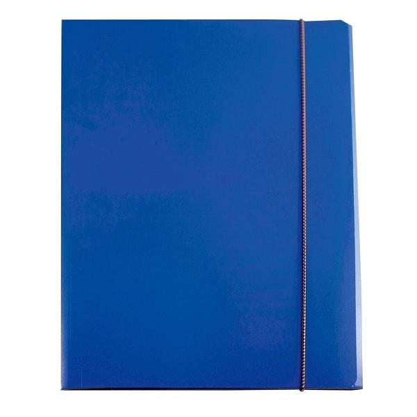Mapa cu elastic, albastra 0