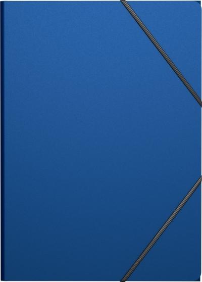 Mapa plastic cu elastic clasic, flapsuri protectoare ajustabile, culori multiple 0