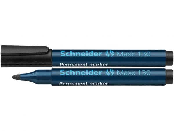 Marker Schneider Maxx 130 - Negru 0