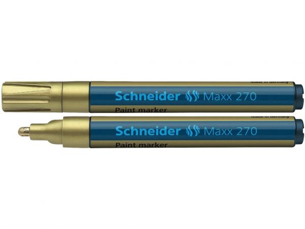 Marker vopsea Schneider M 270 - Auriu 0
