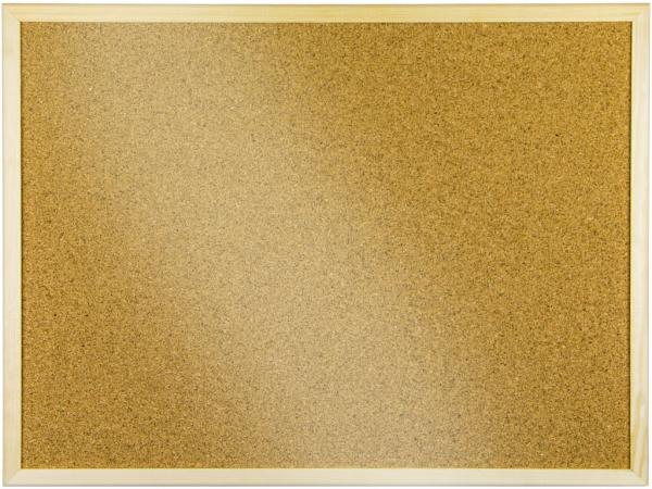 Panou pluta 90 x 120 cm cu rama de lemn [0]