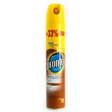Spray pentru mobila Pronto Classic Lemn, 400 ml [0]