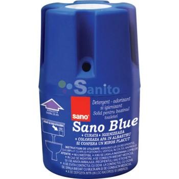 Sano Blue, odorizant bazin WC, 150g 0