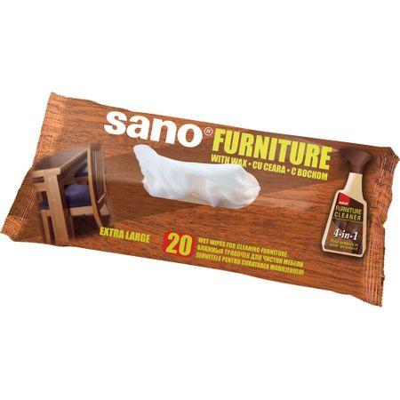 Servetele umede pentru mobila Sano, 20buc 0