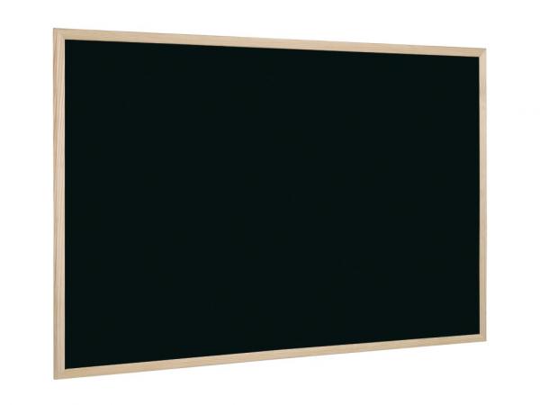 Tabla neagra 80 x 60 cm cu rama din lemn 0