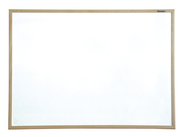 Whiteboard magnetic 60 x 40 cm cu rama din lemn Forster 0