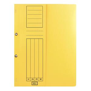 Dosar cu gauri 1/2, carton, 250 g/mp, color, 10 bucati/set1