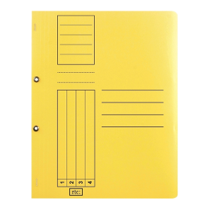 Dosar cu gauri 1/1, carton, 250 g/mp, color, 10 bucati/set3