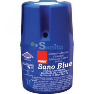 Sano Blue, odorizant bazin WC, 150g