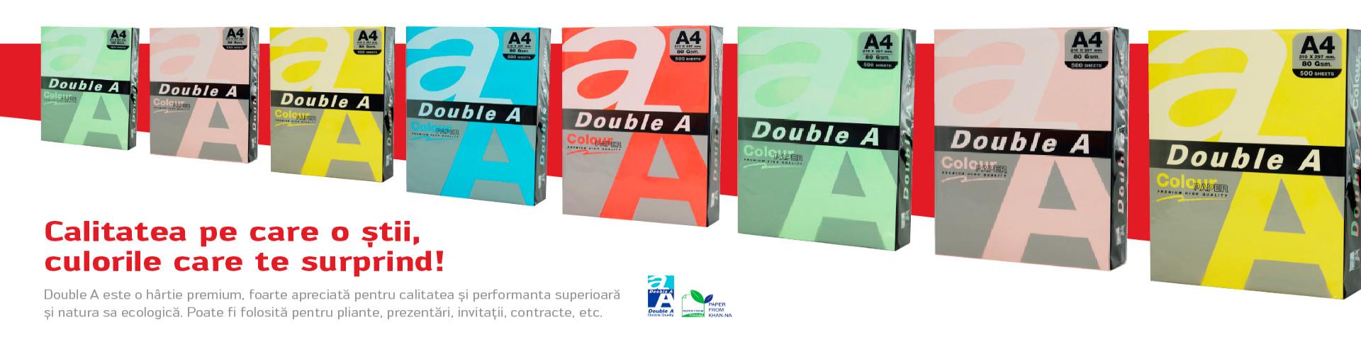 Hartie colorata Double A