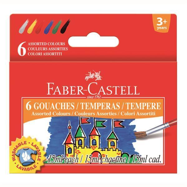 Guase Faber-Castell - 6 culori 0