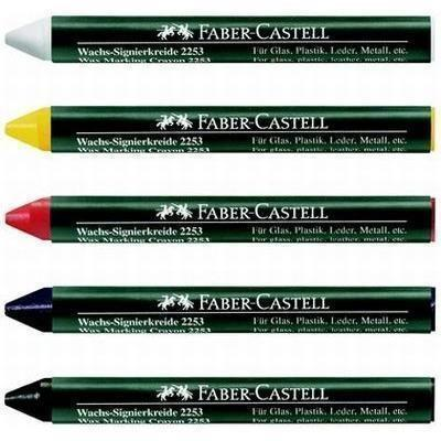 Creion cerat 2253 suprafete lucioase Faber-Castell - negru 1