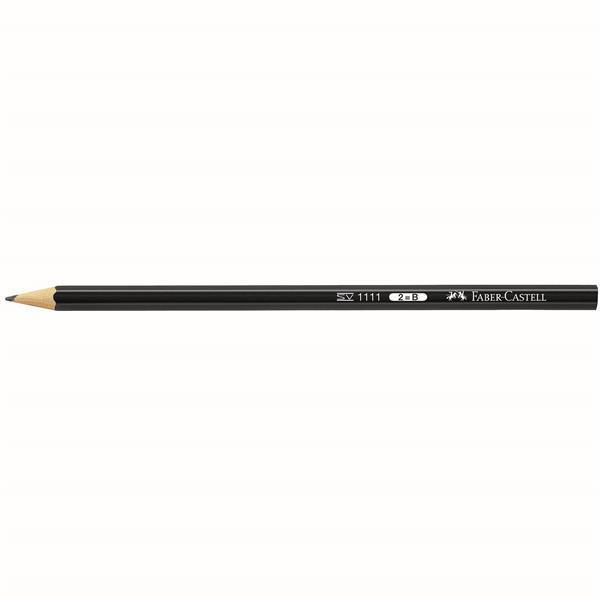 Creion grafit fara guma 1111 Faber-Castell - HB 2