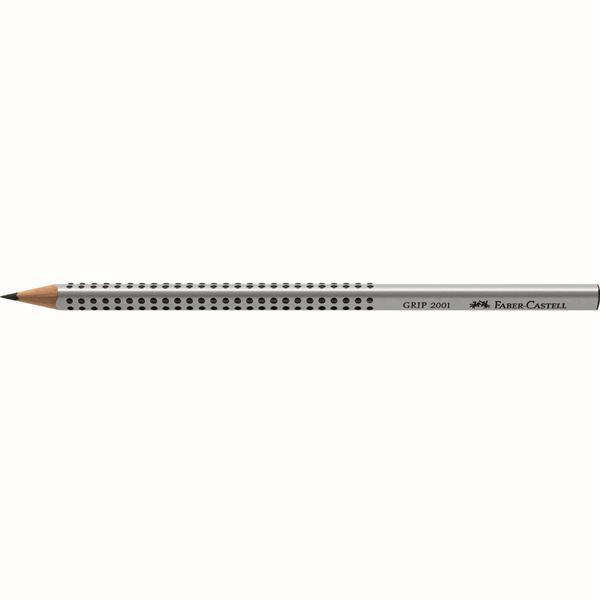 Creion Grafit Grip 2001 Faber-Castell - 2H 1