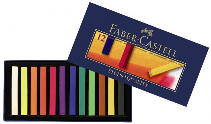 Cutie Creioane Pastel Soft Faber-Castell  0
