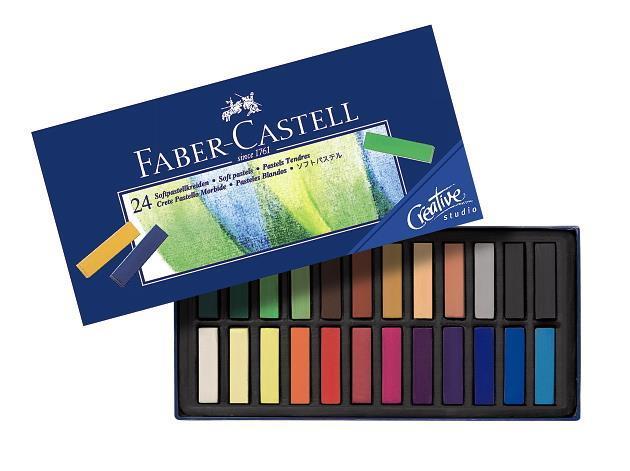 Cutie Creioane Pastel Soft Mini Faber-Castell 0