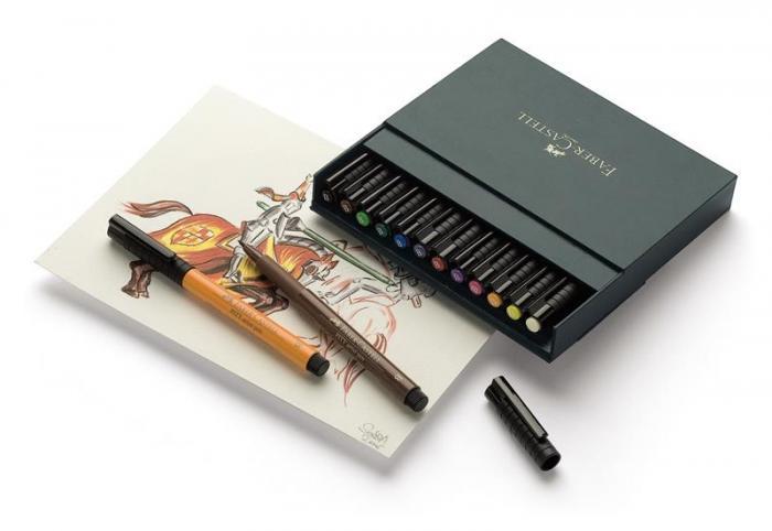 Pitt Artist Pen Cutie Studio Faber-Castell  0