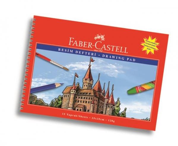 Bloc Desen A4, 15 file, 120 g/mp Faber-Castell 1