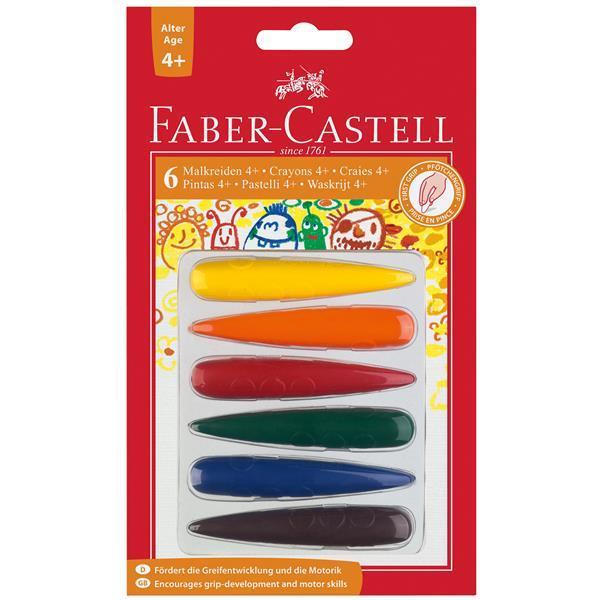 Creioane Cerate Degete Faber-Castell 0