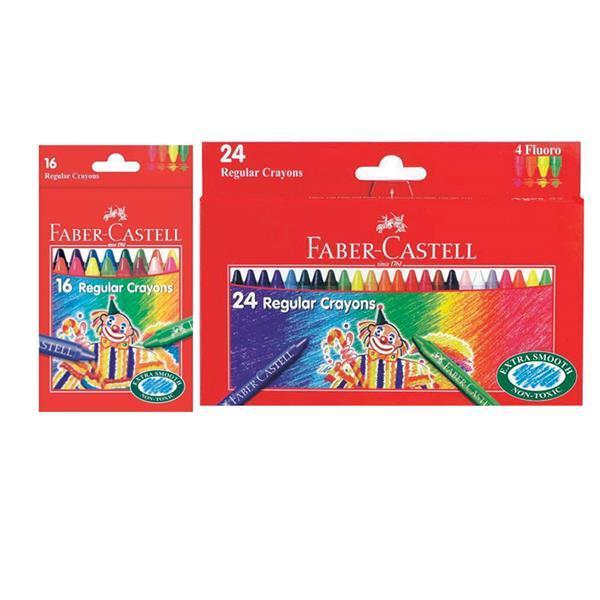 Creioane Cerate Clown Faber-Castell - 24 culori 1