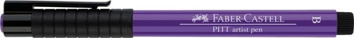 Pitt Artist Pen Brush Violet Purpuriu Faber-Castell 0