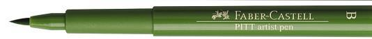 Pitt Artist Pen Brush Verde Crud Faber-Castell 1