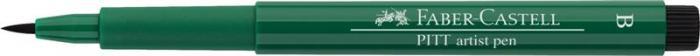 Pitt Artist Pen Brush Verde Inchis Faber-Castell 1