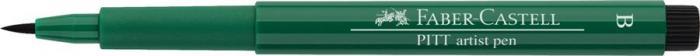 Pitt Artist Pen Brush Verde Inchis Faber-Castell 0