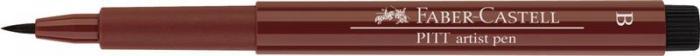Pitt Artist Pen Brush Rosu Indian Faber-Castell 1