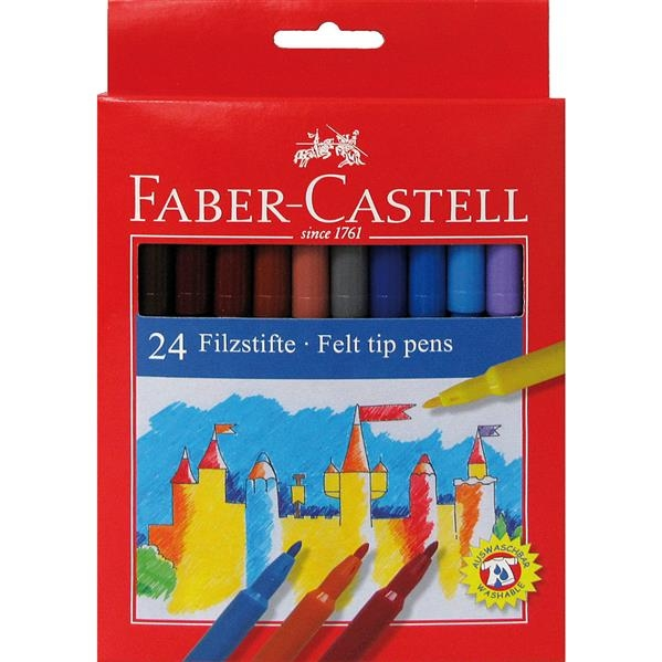 Carioci Faber-Castell - 24 culori 1